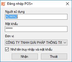 login POS Plus